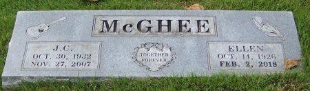 MCGHEE, J C - Crawford County, Arkansas | J C MCGHEE - Arkansas Gravestone Photos