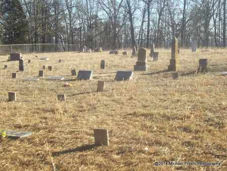 *OVERVIEW OF LIBERTY HILL CEME, . - Crawford County, Arkansas | . *OVERVIEW OF LIBERTY HILL CEME - Arkansas Gravestone Photos