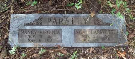 MITCHELL PARSLEY, NANCY VIRGINIA - Crawford County, Arkansas | NANCY VIRGINIA MITCHELL PARSLEY - Arkansas Gravestone Photos