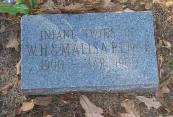 PENSE, INFANT TWINS - Crawford County, Arkansas | INFANT TWINS PENSE - Arkansas Gravestone Photos