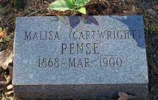 PENSE, MALISA - Crawford County, Arkansas   MALISA PENSE - Arkansas Gravestone Photos