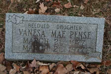 PENSE, VANESA - Crawford County, Arkansas   VANESA PENSE - Arkansas Gravestone Photos