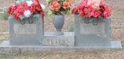 PETERS, ALPHA O - Crawford County, Arkansas | ALPHA O PETERS - Arkansas Gravestone Photos