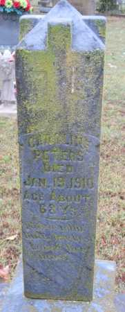 PETERS, CAROLINE ELIZABETH - Crawford County, Arkansas | CAROLINE ELIZABETH PETERS - Arkansas Gravestone Photos