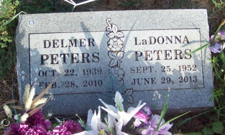 PETERS, LADONNA - Crawford County, Arkansas | LADONNA PETERS - Arkansas Gravestone Photos