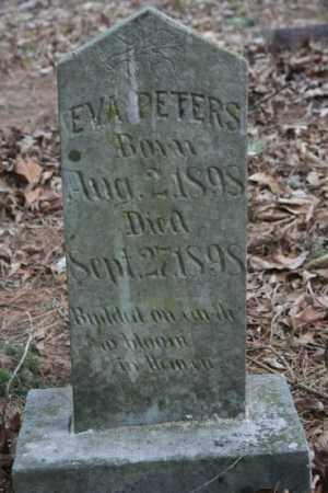 PETERS, EVA - Crawford County, Arkansas | EVA PETERS - Arkansas Gravestone Photos
