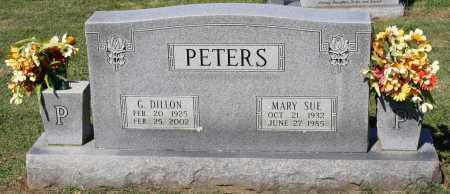 PETERS, MARY SUE - Crawford County, Arkansas   MARY SUE PETERS - Arkansas Gravestone Photos