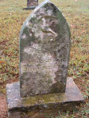 PETERS, INFANT SON - Crawford County, Arkansas | INFANT SON PETERS - Arkansas Gravestone Photos