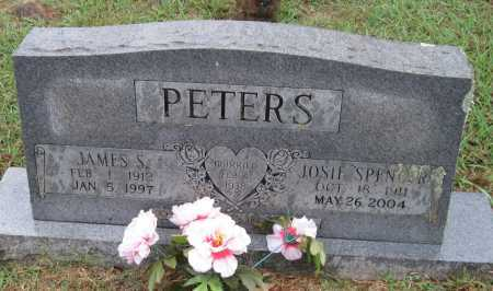 SPENCER PETERS, JOSIE - Crawford County, Arkansas | JOSIE SPENCER PETERS - Arkansas Gravestone Photos