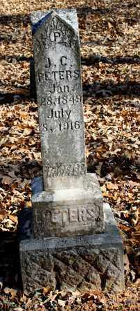 PETERS, J C - Crawford County, Arkansas   J C PETERS - Arkansas Gravestone Photos