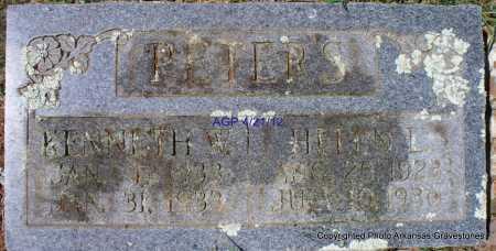 PETERS, HELEN L - Crawford County, Arkansas   HELEN L PETERS - Arkansas Gravestone Photos