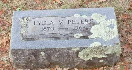 PETERS, LYDIA V - Crawford County, Arkansas   LYDIA V PETERS - Arkansas Gravestone Photos