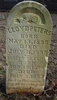PETERS, LLOYD - Crawford County, Arkansas | LLOYD PETERS - Arkansas Gravestone Photos