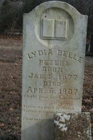 PETERS, LYDIA - Crawford County, Arkansas | LYDIA PETERS - Arkansas Gravestone Photos