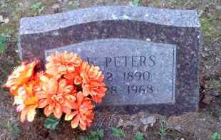 PETERS, MAE - Crawford County, Arkansas   MAE PETERS - Arkansas Gravestone Photos