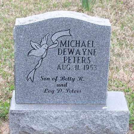 PETERS, MICHAEL DEWAYNE - Crawford County, Arkansas | MICHAEL DEWAYNE PETERS - Arkansas Gravestone Photos