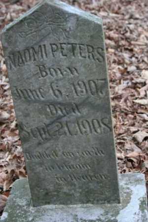PETERS, NAOMI - Crawford County, Arkansas | NAOMI PETERS - Arkansas Gravestone Photos