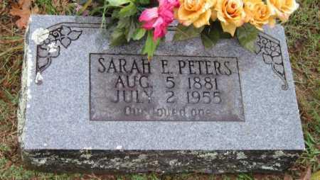 DOUGLAS PETERS, SARAH E - Crawford County, Arkansas | SARAH E DOUGLAS PETERS - Arkansas Gravestone Photos