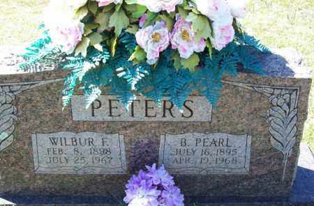 PETERS, B PEARL - Crawford County, Arkansas | B PEARL PETERS - Arkansas Gravestone Photos