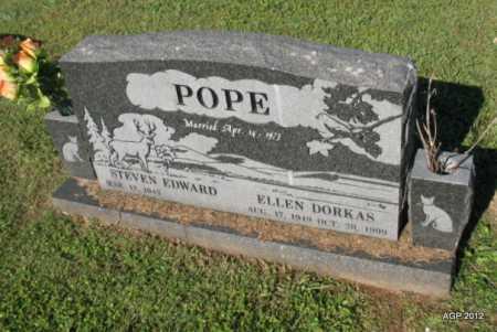 POPE, ELLEN - Crawford County, Arkansas | ELLEN POPE - Arkansas Gravestone Photos
