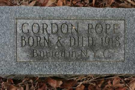 POPE, GORDON - Crawford County, Arkansas   GORDON POPE - Arkansas Gravestone Photos