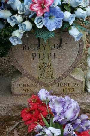 POPE, RICKY - Crawford County, Arkansas | RICKY POPE - Arkansas Gravestone Photos