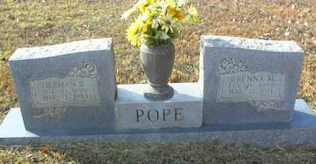 POPE, TILLMAN B. - Crawford County, Arkansas | TILLMAN B. POPE - Arkansas Gravestone Photos