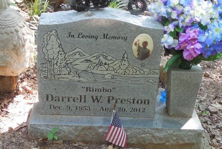 PRESTON (VETERAN), DARRELL W - Crawford County, Arkansas | DARRELL W PRESTON (VETERAN) - Arkansas Gravestone Photos