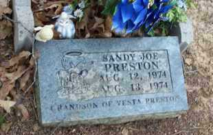 PRESTON, SANDY JOE - Crawford County, Arkansas | SANDY JOE PRESTON - Arkansas Gravestone Photos