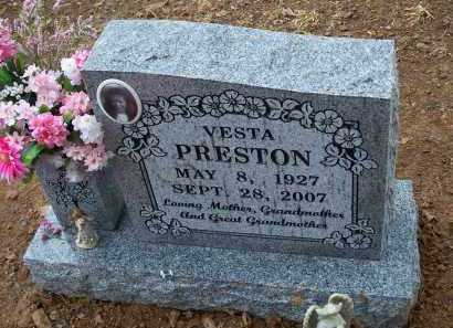 PRESTON, VESTA - Crawford County, Arkansas | VESTA PRESTON - Arkansas Gravestone Photos