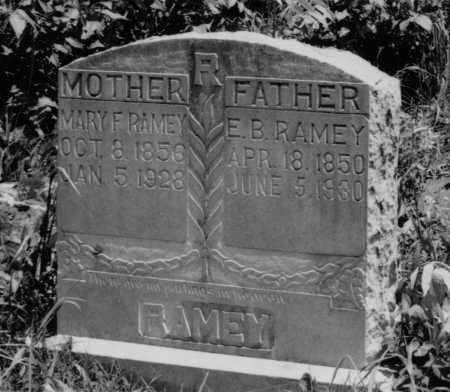 RAMEY, EZEKIEL BUSHROD - Crawford County, Arkansas | EZEKIEL BUSHROD RAMEY - Arkansas Gravestone Photos