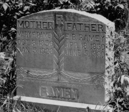 RAMEY, MARY FRANCES - Crawford County, Arkansas | MARY FRANCES RAMEY - Arkansas Gravestone Photos