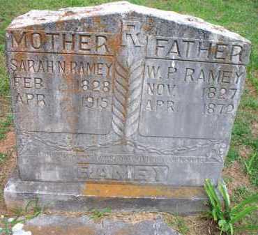 RAMEY, W P - Crawford County, Arkansas | W P RAMEY - Arkansas Gravestone Photos
