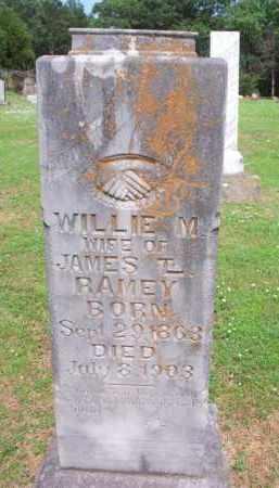 RAMEY, WILLIE M - Crawford County, Arkansas   WILLIE M RAMEY - Arkansas Gravestone Photos