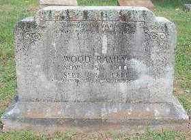 RAMEY, WOOD - Crawford County, Arkansas | WOOD RAMEY - Arkansas Gravestone Photos