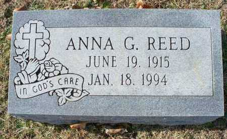 REED, ANNA G - Crawford County, Arkansas | ANNA G REED - Arkansas Gravestone Photos