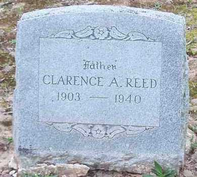 REED, CLARENCE A - Crawford County, Arkansas | CLARENCE A REED - Arkansas Gravestone Photos