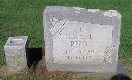 REED, CLAUDE E - Crawford County, Arkansas | CLAUDE E REED - Arkansas Gravestone Photos