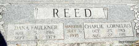 REED, CHARLEI CORNELIUS - Crawford County, Arkansas | CHARLEI CORNELIUS REED - Arkansas Gravestone Photos