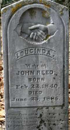 REED, LOUCINDA - Crawford County, Arkansas | LOUCINDA REED - Arkansas Gravestone Photos