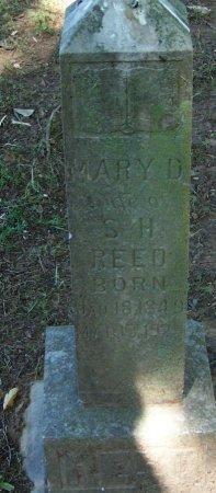 REED, MARY D - Crawford County, Arkansas   MARY D REED - Arkansas Gravestone Photos