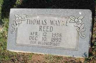 REED, THOMAS WAYNE - Crawford County, Arkansas | THOMAS WAYNE REED - Arkansas Gravestone Photos