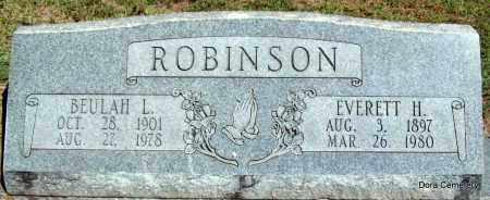 ABBOTT ROBINSON, BEULAH L - Crawford County, Arkansas | BEULAH L ABBOTT ROBINSON - Arkansas Gravestone Photos