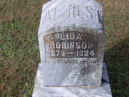 ROBINSON, LIDA - Crawford County, Arkansas   LIDA ROBINSON - Arkansas Gravestone Photos