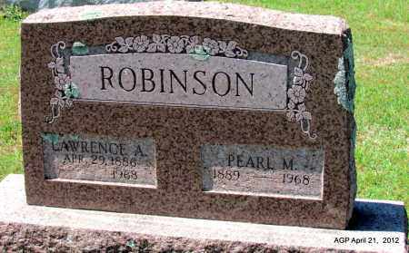 ROBINSON, PEARL M - Crawford County, Arkansas | PEARL M ROBINSON - Arkansas Gravestone Photos