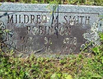 ROBINSON, MILDRED M - Crawford County, Arkansas | MILDRED M ROBINSON - Arkansas Gravestone Photos