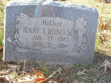 ROBINSON, MARY E - Crawford County, Arkansas | MARY E ROBINSON - Arkansas Gravestone Photos