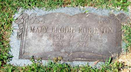 ROBINSON, MARY - Crawford County, Arkansas | MARY ROBINSON - Arkansas Gravestone Photos