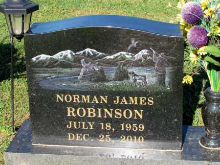 ROBINSON, NORMAN JAMES - Crawford County, Arkansas   NORMAN JAMES ROBINSON - Arkansas Gravestone Photos