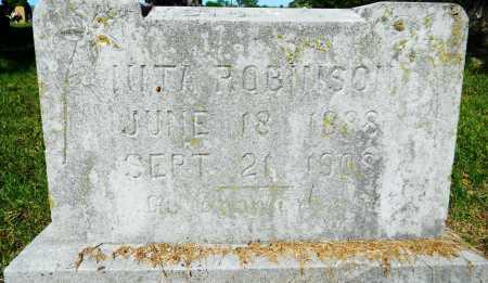 ROBINSON, NITA - Crawford County, Arkansas   NITA ROBINSON - Arkansas Gravestone Photos